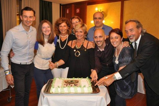 NH Roma Villa Carpegna: con gli amici e soci