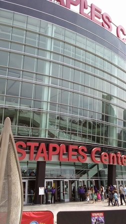 Staples Center: We didnt get in