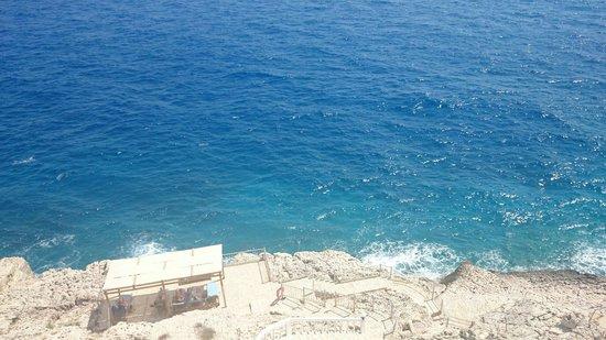 Hotel Cachet: Sun bathing platform from the balcony