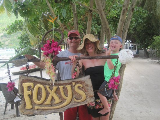 Born to Rhumb Charters: Our first stop...Jost Van Dyk to visit Foxy's