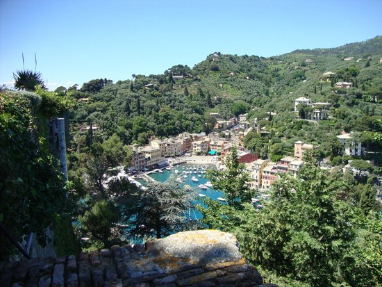 Portofino, Italie : Vista do castelo