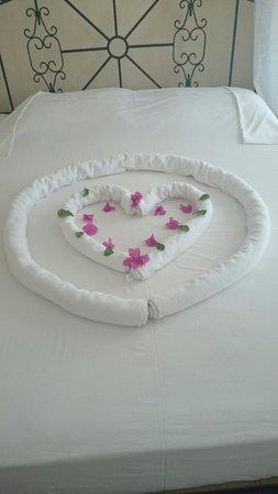 Hotel Cachet: Beautiful towel design