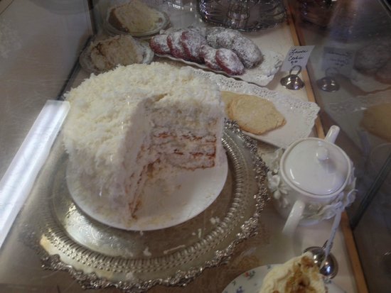 The Cottage Tea House: Coconut cake to die for