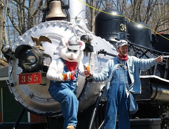 Whippany Railway Museum: Join the Easter Bunny on his very Special Express