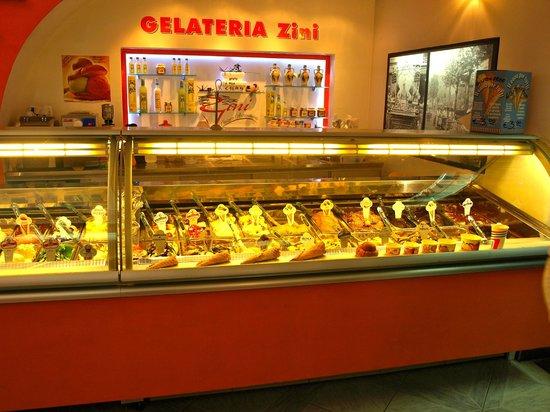 Gelateria Zini, il Gelato Artigianale : the flavors