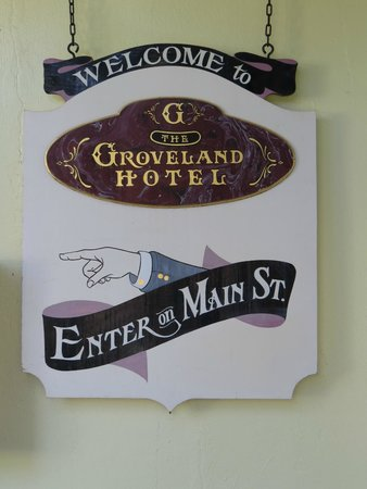 The Groveland Hotel: Welcome