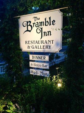 Bramble Inn Restaurant: All around terrific dining experience