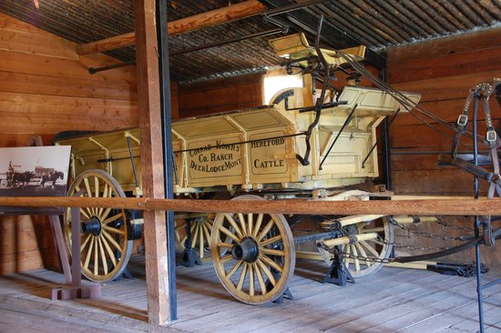 Grant-Kohrs Ranch - National Historic Site: Collection of wagond