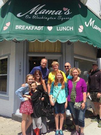 North Beach: Mama's restaurant, 2 hour wait