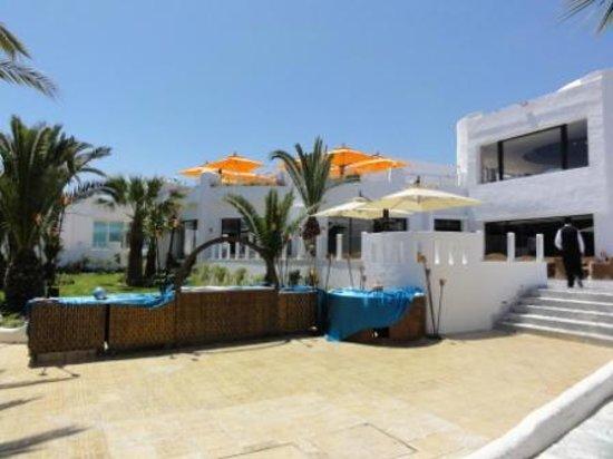 Fiesta Beach Club Djerba : Les deux terasses agrendi