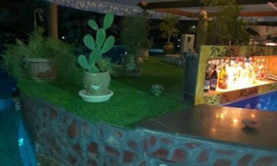 Fiesta Beach Club Djerba : embellissement du bar de la piscine