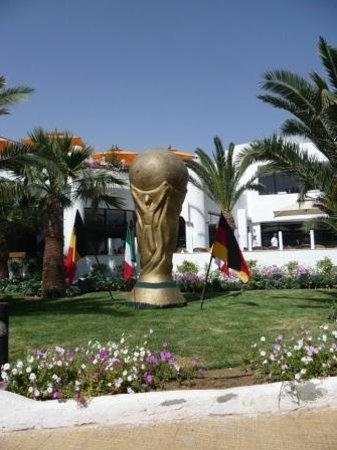 Fiesta Beach Club Djerba : jardin