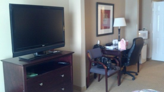 Wingate By Wyndham Dallas / Las Colinas: Large TV and work station