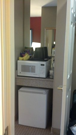Wingate By Wyndham Dallas / Las Colinas: Microwave and Frige