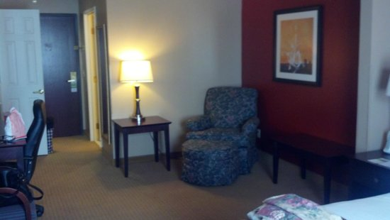 Wingate By Wyndham Las Colinas : Comfty lounge area