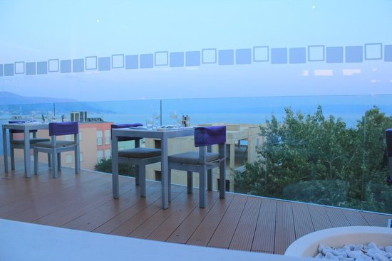 Radisson Blu Resort Split: View from the restaurant The Caper Grill