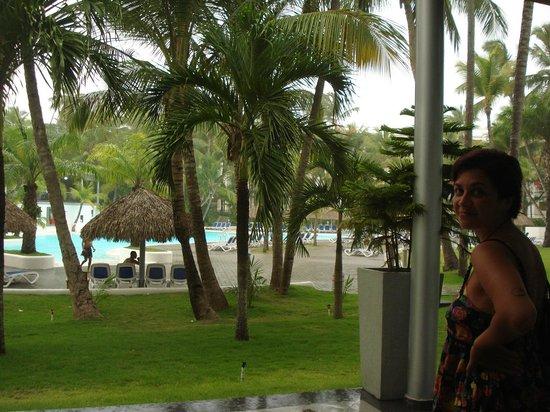 Hotel Riu Naiboa: Jardin