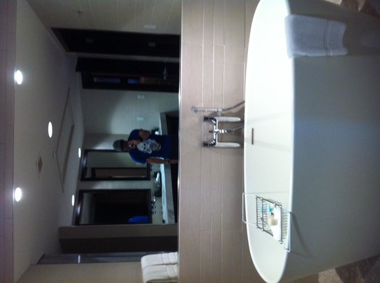 Hyatt Centric The Woodlands : awesome bathroom