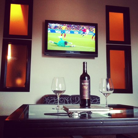 Hyatt Centric The Woodlands: during the world cup
