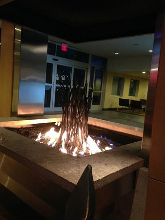Crowne Plaza Hotel Minneapolis - Airport West Bloomington: Bar/Restaurant fire pit