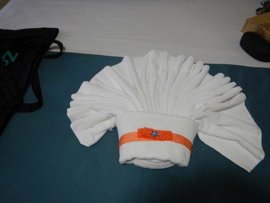 All Ritmo Cancun Resort & Waterpark : maids made these every day