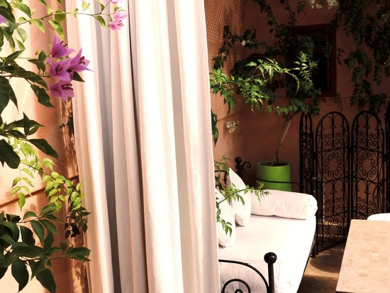 Riad Al Badia : Lounge on the terrace