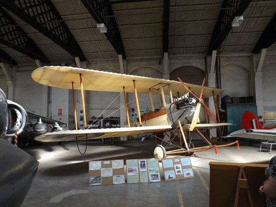 Boscombe Down Aviation Collection: Replica of early biplane looks stunning