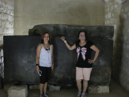 Saqqara (Sakkara) Pyramids: dentro da tumba