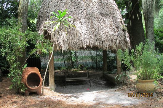 The Children's Garden: Tiki Hut