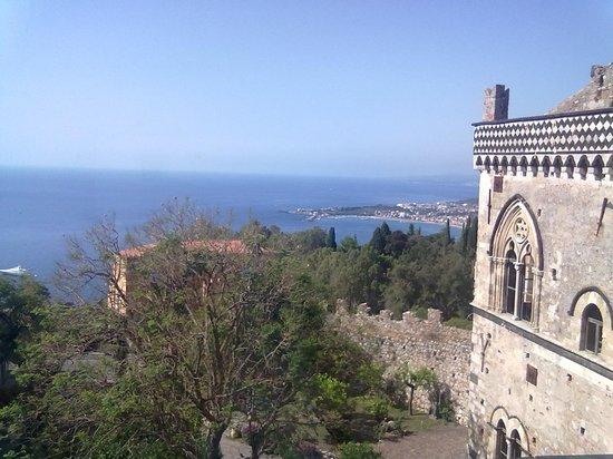Hotel Del Corso : il mare dalla terrazza