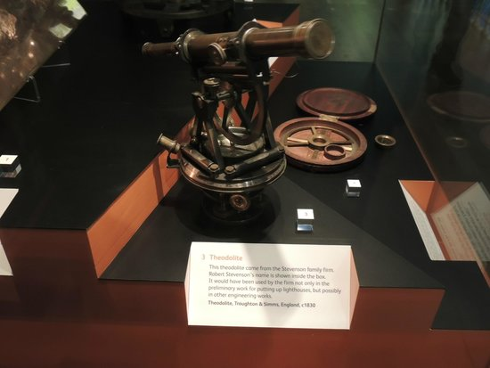 Museo Nacional de Escocia: Teodolito