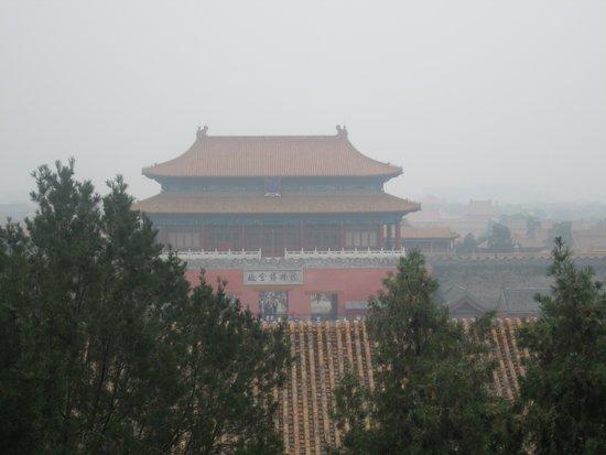 Jingshan Park (Jingshan Gongyuan): view of Forbidden City1