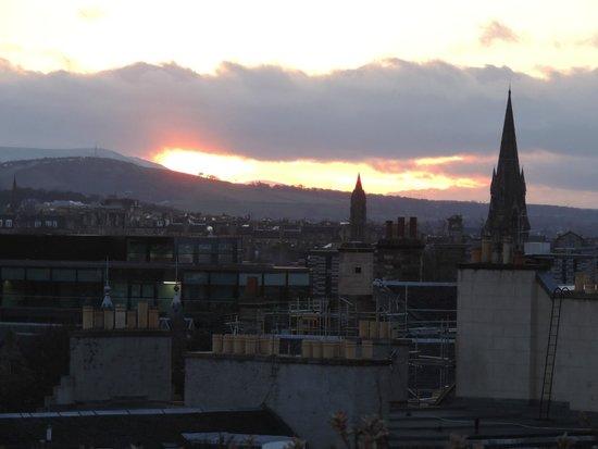 Museo Nacional de Escocia: Vista do terraço