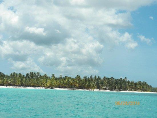 Weiler Caribbean Sea : Llegando a Isla Saona