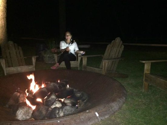 The Pridwin Hotel's Firepit