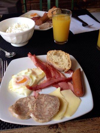 La Masieta: Desayunando!
