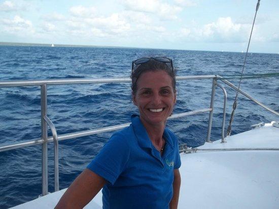 Weiler Caribbean Sea : En el barco de regreso