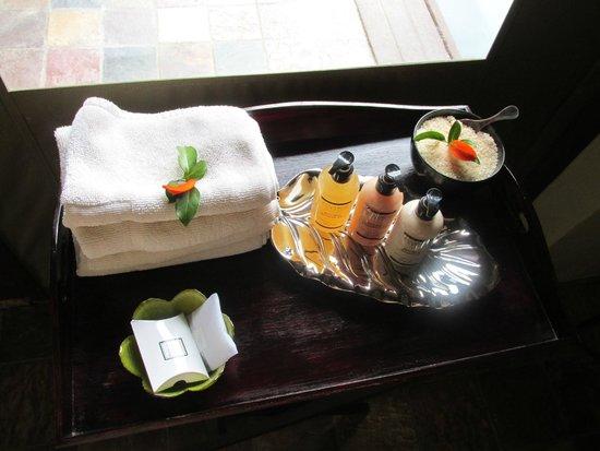 Shamwari Game Reserve Lodges: Bathroom amenities