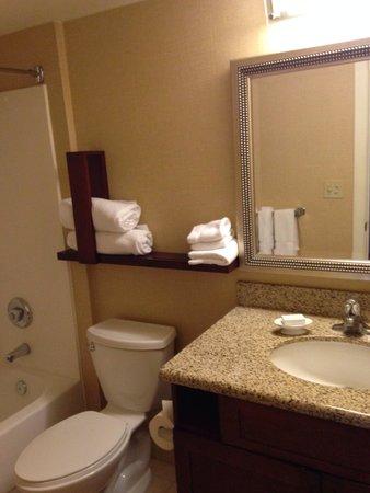 Residence Inn Albuquerque: Downstairs bathroom-penthouse