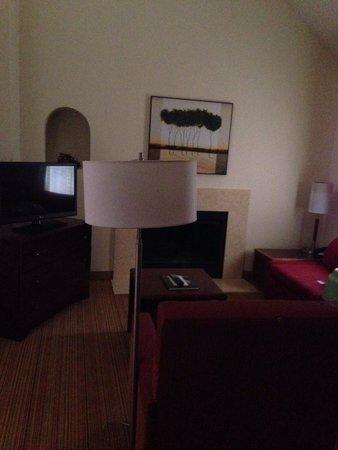 Residence Inn Albuquerque: Living room