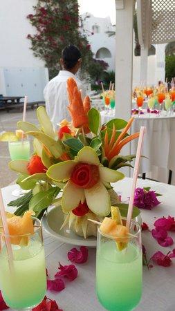 Hotel Djerba Haroun : Cocktail party