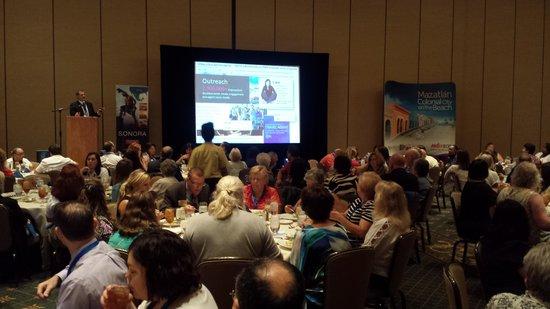 Arizona Grand Resort & Spa : Luncheon seminar at the Conference Center