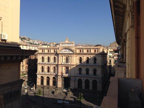 Hotel Le Orchidee: Vista da varanda em junho de 2014