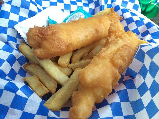 The Codmother Fish & Chips: Junior size fish and chips