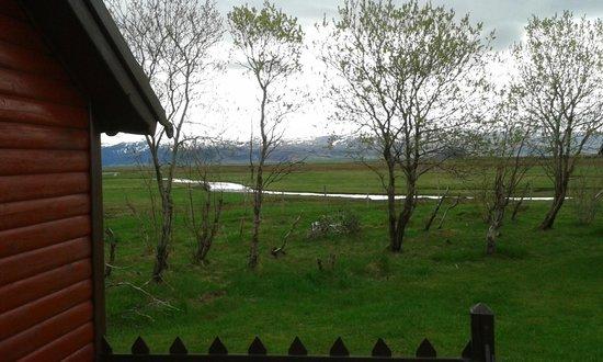 Smaratun Guesthouse: Mountain view