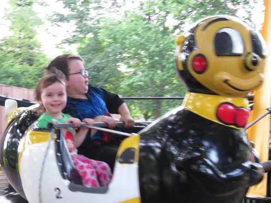 Centreville Theme Park: Expensive tickets $25 for 3 rides for 2 kids