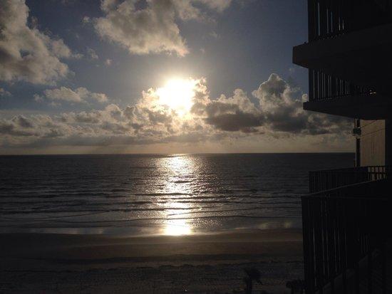 Nautilus Inn : Ocean sunset