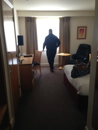 Grand Canal Hotel: big room