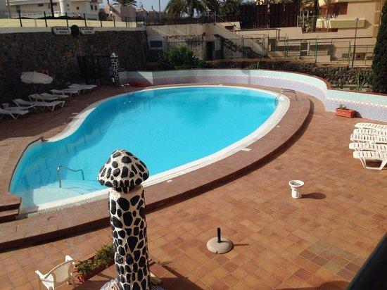 Guinea Apartments: Swimming Area