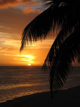 Sands Villas : Sunset by the sea